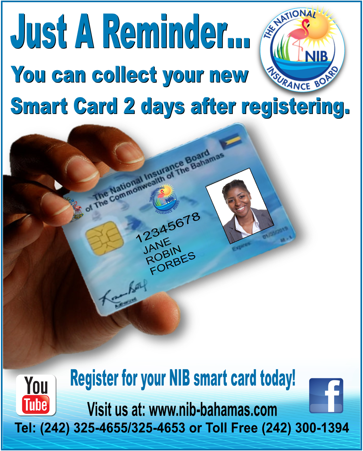 Nib Registration Drive