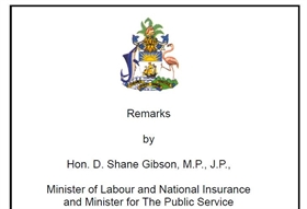 Press Statement By Minister D Shane Gibson on Registrants Self-Service Facility