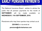 Early Pension Payments