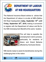 Department of Labour at NIB
