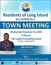 Town Meeting in Gray's Long Island