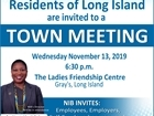 Town Meeting - Gray's Long Island